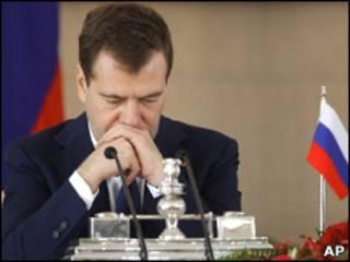 Президент РФ Дмитрий Медведев