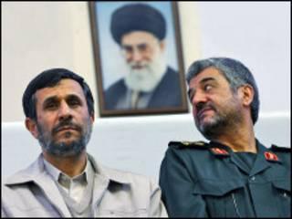 جعفری و احمدی نژاد