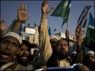 معترضان پاکستانی