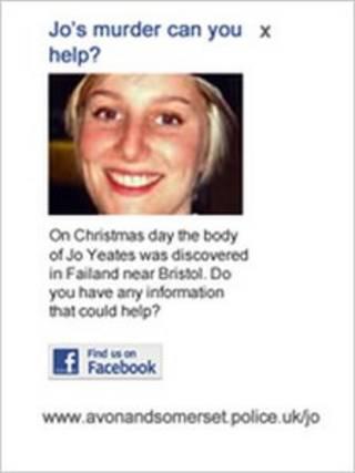 Polícia britânica usa o Facebook para conseguir informações sobre morte de Jo Yeates