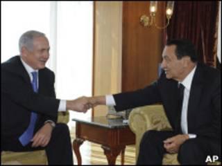 مبارک و نتانیاهو