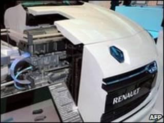 samfurin motocin  Renault