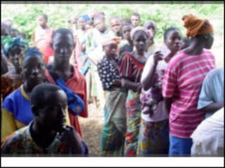 Wasu 'yan gudun hijirar Ivory Coast
