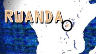 Le Rwanda en Afrique