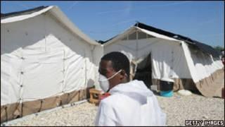 Эпидемия холеры в Гаити