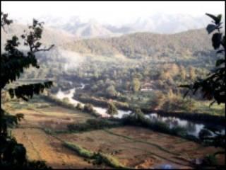 ထိုင်းမြန်မာ နယ်စပ်တနေရာ