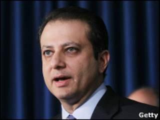 Прокурор Южного округа Нью-Йорка Прит Бхарара