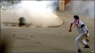 تظاهرات در تونس