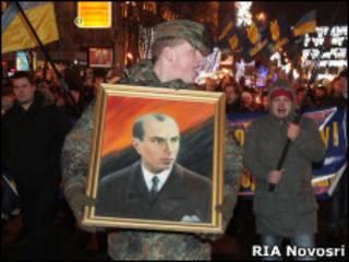 Украинские националисты на марше