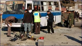 काबुल में धमाका