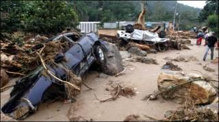 Lũ lụt tại Brazil