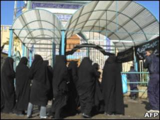 زائران زن ایرانی در کاظمین