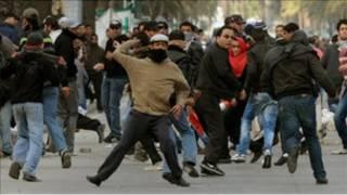 الاحتجاجات الشعبية في تونس
