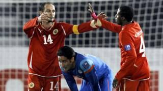 बहरीन और भारत के बीच मैच