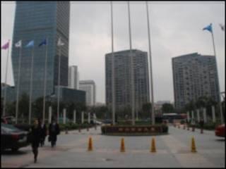 Деловой район в китайском городе