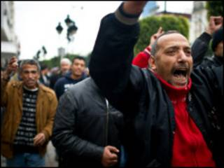 Zanga zanga a kasar Tunisia