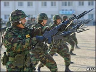 Южнокорейские военные
