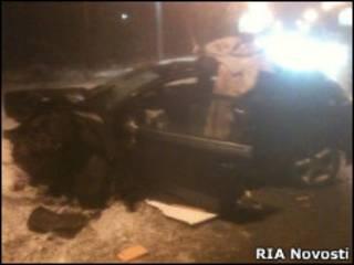 Авария на Рублево-Успенском шоссе
