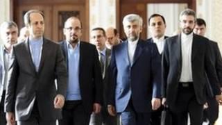 هیات مذاکره اتمی ایران
