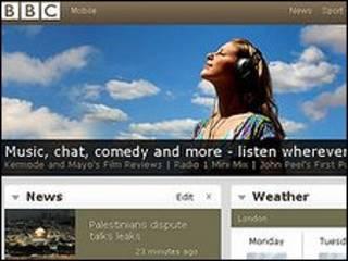 Trang web của BBC