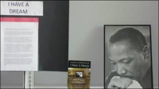 Портрет Мартина Лютера Кинга