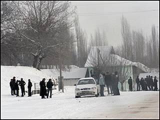 Жители таджикского села