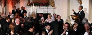 Cena de Estado ofrecida por Obama a Hu