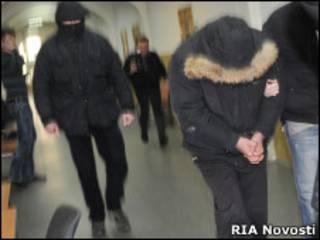 Магомедов в коридоре Басманного суда