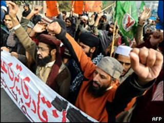 Демонстрации против внесения изменений в закон о богохульстве