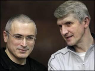 Ходорковский ва Лебедев