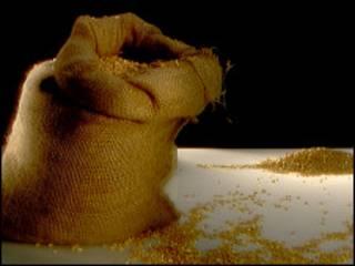 мешок с зерном