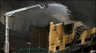 Пожежа у Самба-Сіті