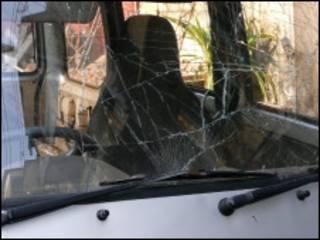 ရန်ကုန်မြို့ဗုံးပေါက်ကွဲတုံးကဗုံးထိတဲ့ကား