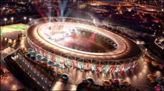 Олимпийский стадион в Стратфорде