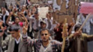 zanga-zangar Yemen