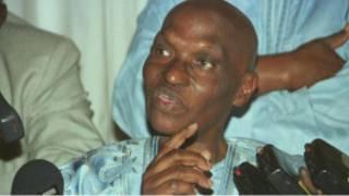 l'ancien président sénégalais Abdoulaye Wade (photo d'archive)