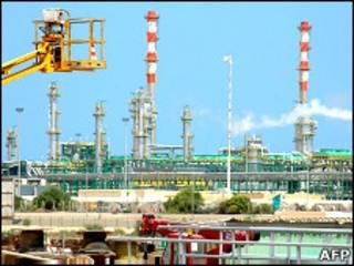 Добыча нефти в Ливии