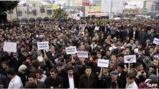 Demonstrasi di Irak