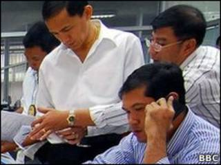 ထိုင်းရဲများက တိုင်ဝမ်ဂိုဏ်းကိုဝင်ရှာ