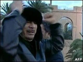 Shugaba Gaddafi na Libya