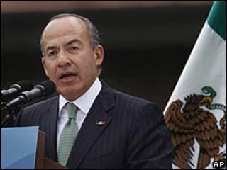 Shugaban Kasar Mexico, Felipe Calderon