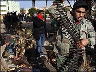 Waasi mjini Benghazi
