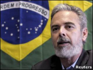 O ministro de Relações Exteriores, Antonio Patriota