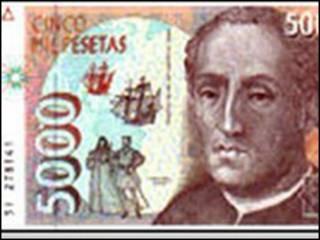 Nota de peseta