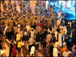 تظاهرات عربستان سعودی