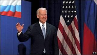 Вице-президент США Джо Байден в МГУ