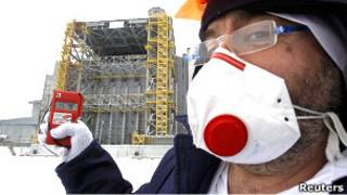 Специалист по ядерной безопасности в Чернобыле