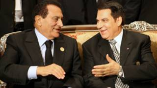 زین العابدین بن علي او حسني مبارک