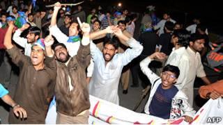 Акция протеста в Пакистане