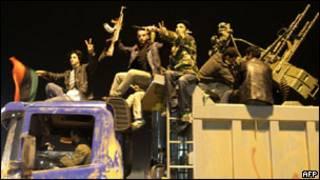 Abitwaje intwaro muri Libya